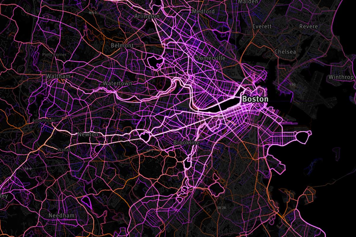 Screenshot of Mapbox