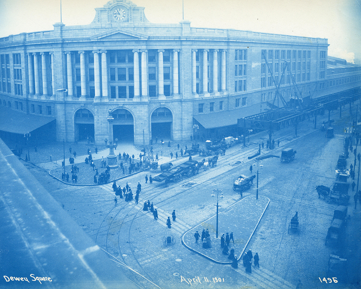 dewey square 1901