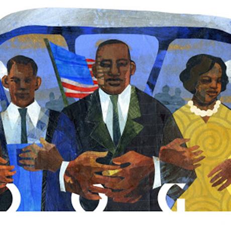 google doodle ekua holmes sq