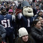 Patriots Sendoff Football