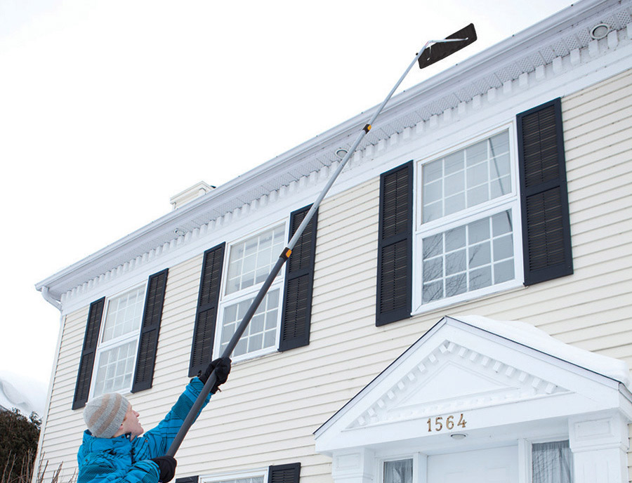 The True Temper 17-ft Aluminum Extendable Roof Rake; $50, Lowes.com. Photo provided.