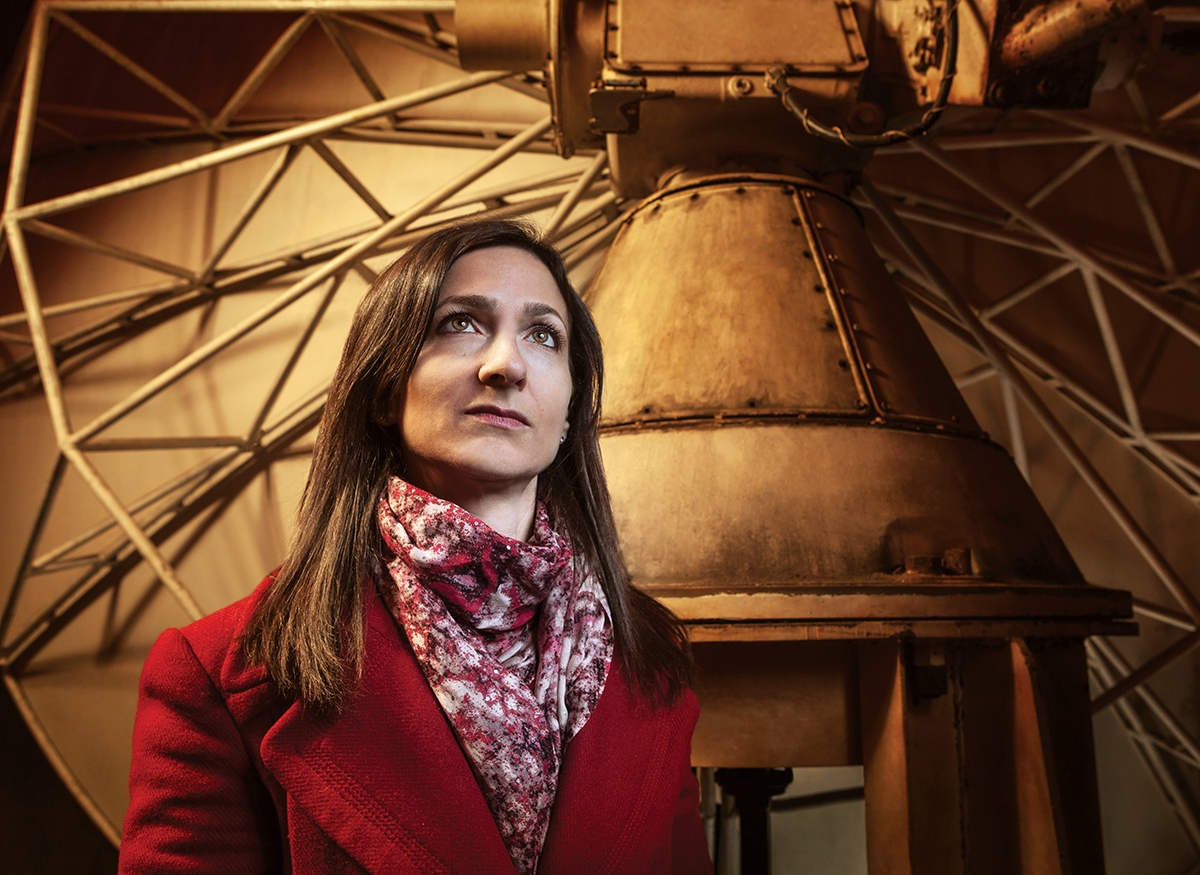 Sara Seager at MIT is among the world's most prominent exoplanet researchers. (Photograph by Trent Bell)
