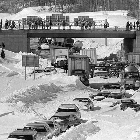 WINTER SNOW BLIZZARD 1978