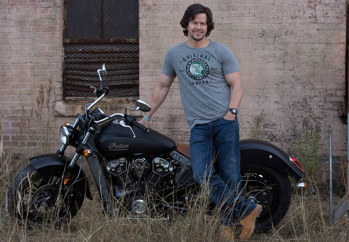indian motorcycle mark wahlberg collection
