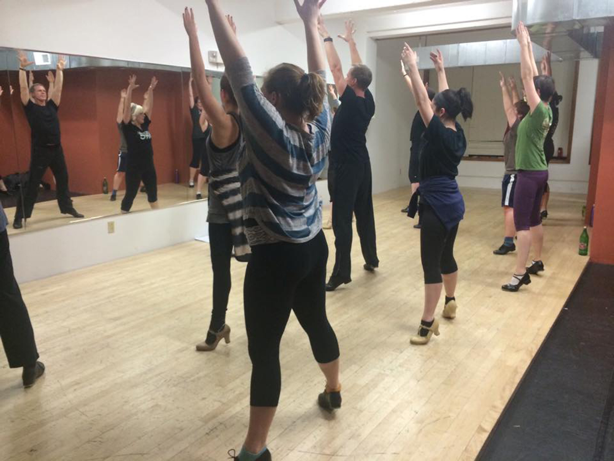 Cardio Tap class at the Z Spot. Photo provided.