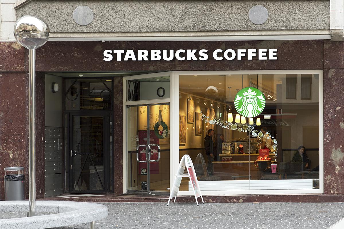 Starbuck exterior via Martin Good / Shutterstock.com