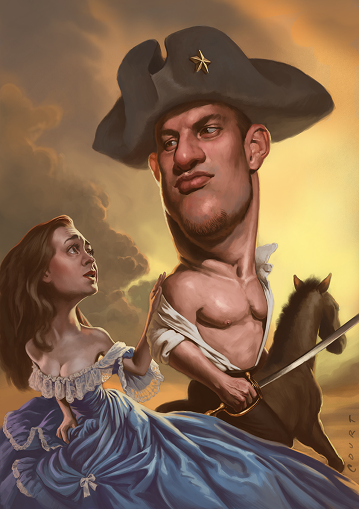 the gronk you're with