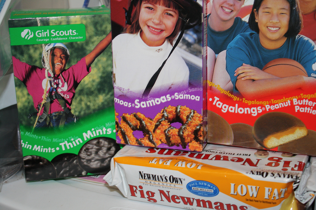 Girl Scout cookies image by starmonkeybrass on Flickr