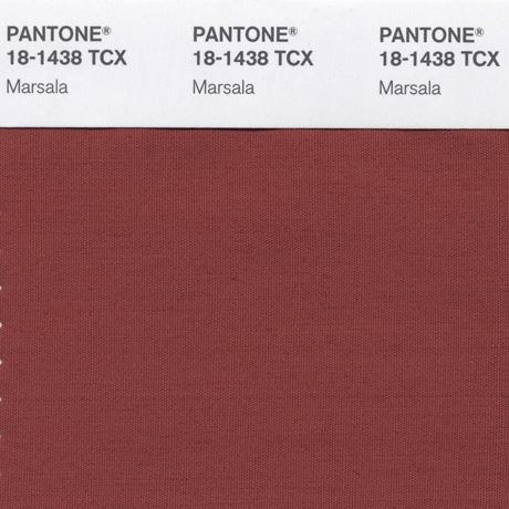 COY Marsala Swatch Card