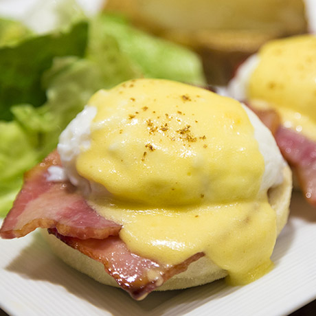 Easter Brunch Eggs Benedict