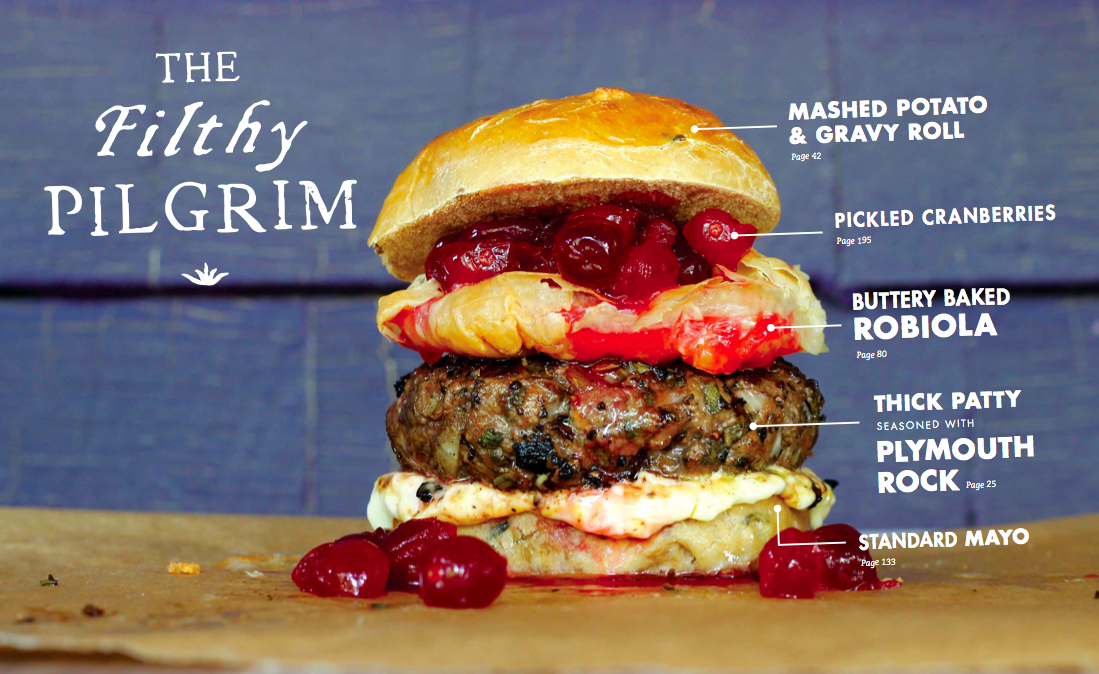 The American Burger Recipes — Dishmaps