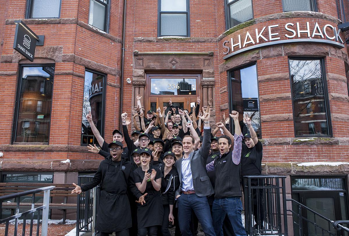 Shake Shack on Newbury Street Is Officially Open