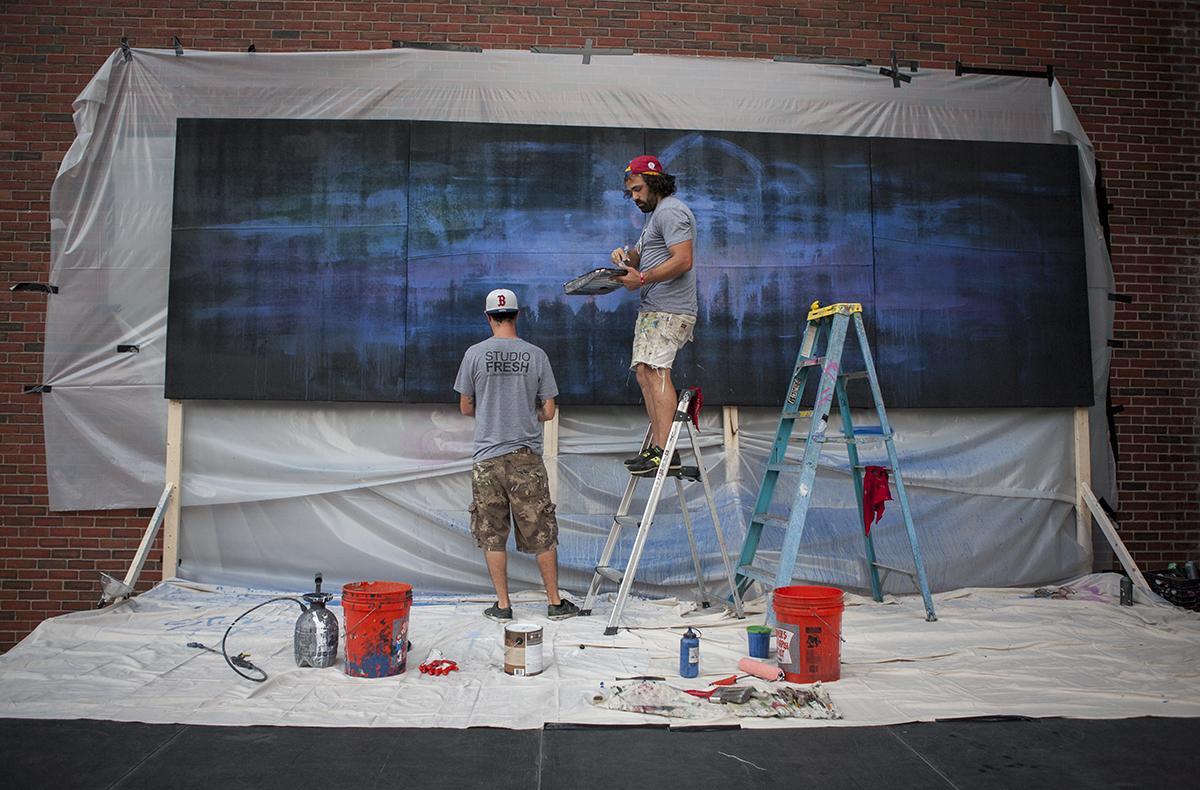 boston calling blank canvas