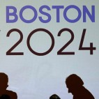 APTOPIX Boston 2024 Olympics