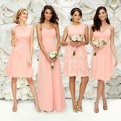 Eva mendes has a new line of bridesmaids dresses boston for Eva mendes wedding dress