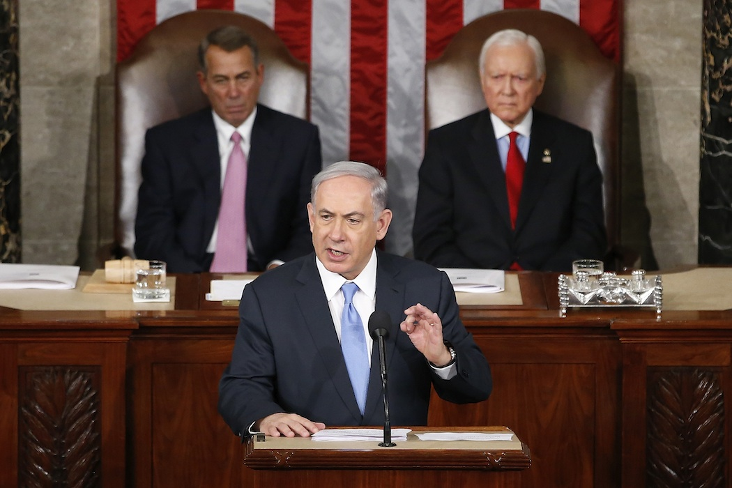 Benjamin Netanyahu, John Boehner, Orrin Hatch