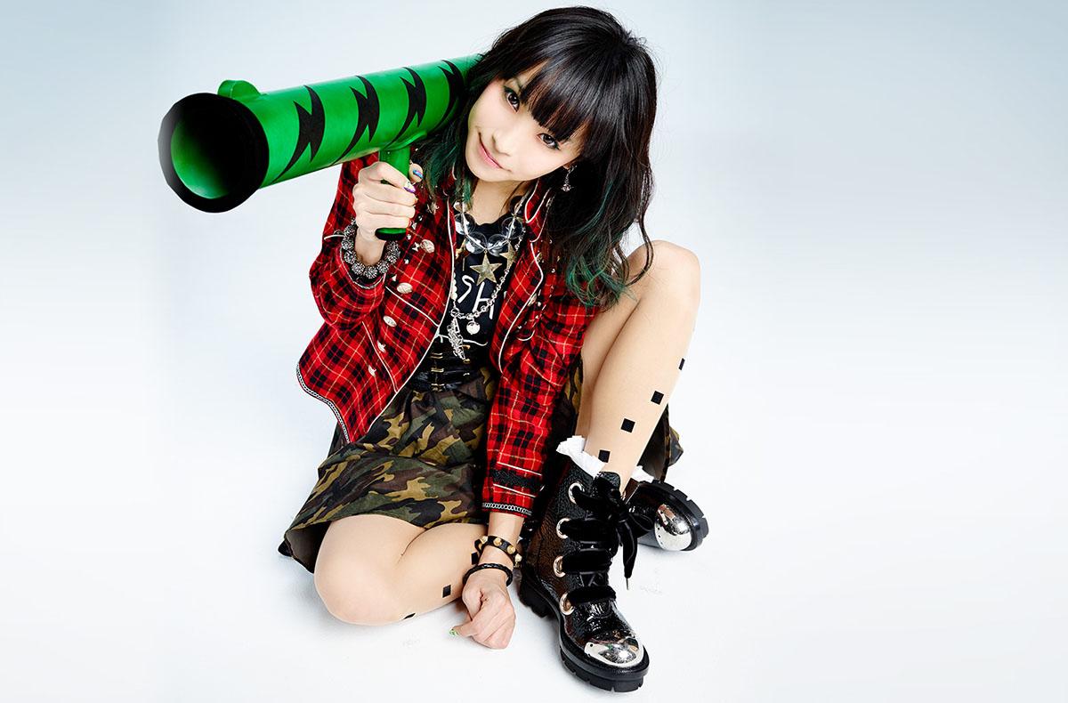 J-pop star Lisa at Anime Bosotn 2015