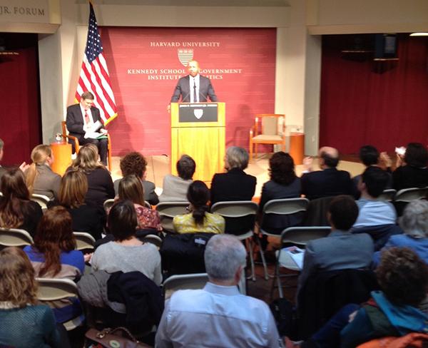 Bryan Stevenson at Harvard