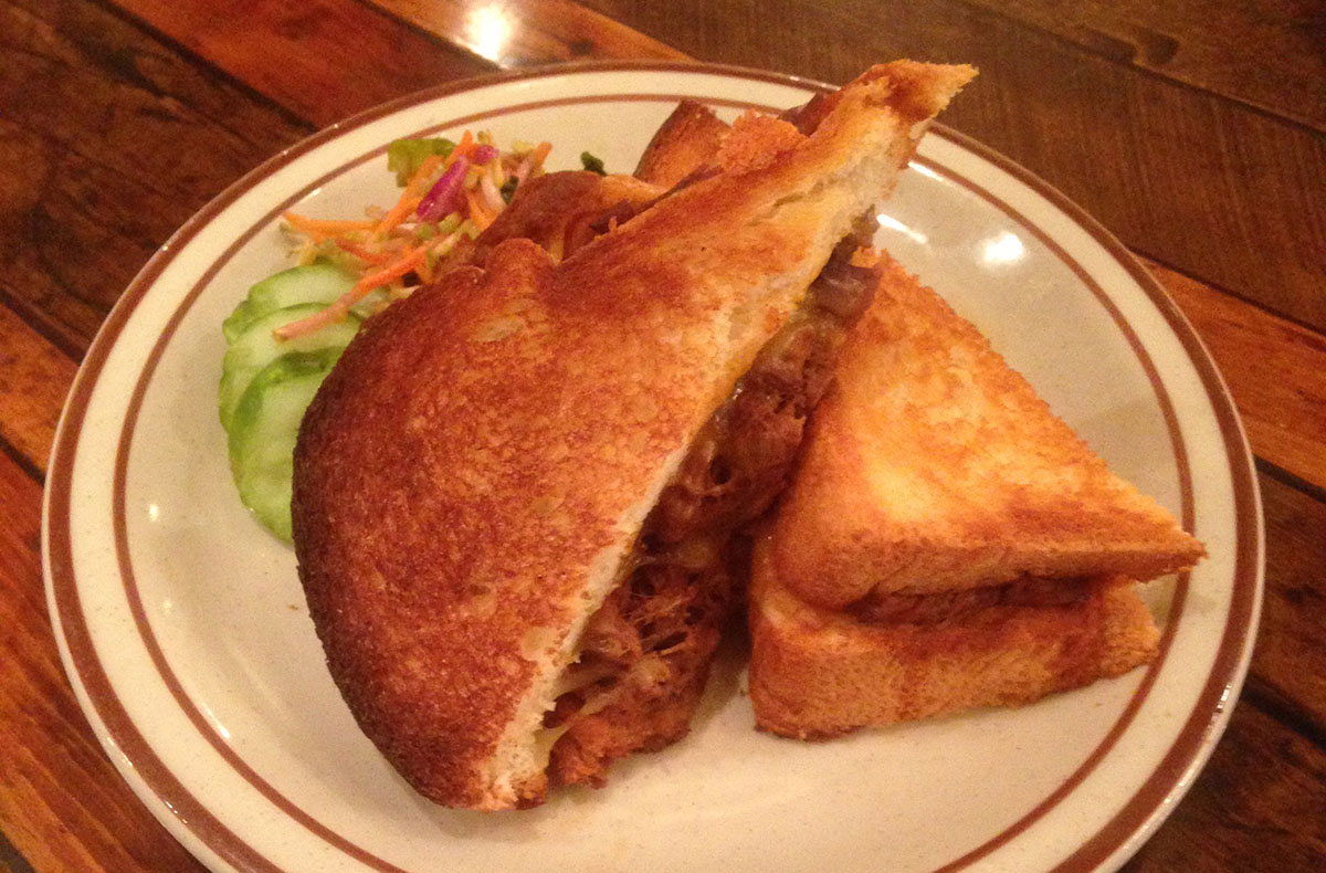 Short Rib Grilled Cheese at Beehive, South End