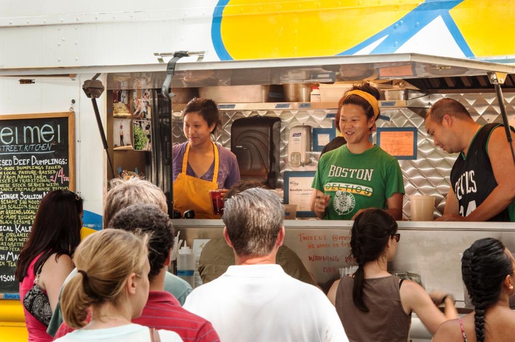 Mei Mei Street Kitchen during service.