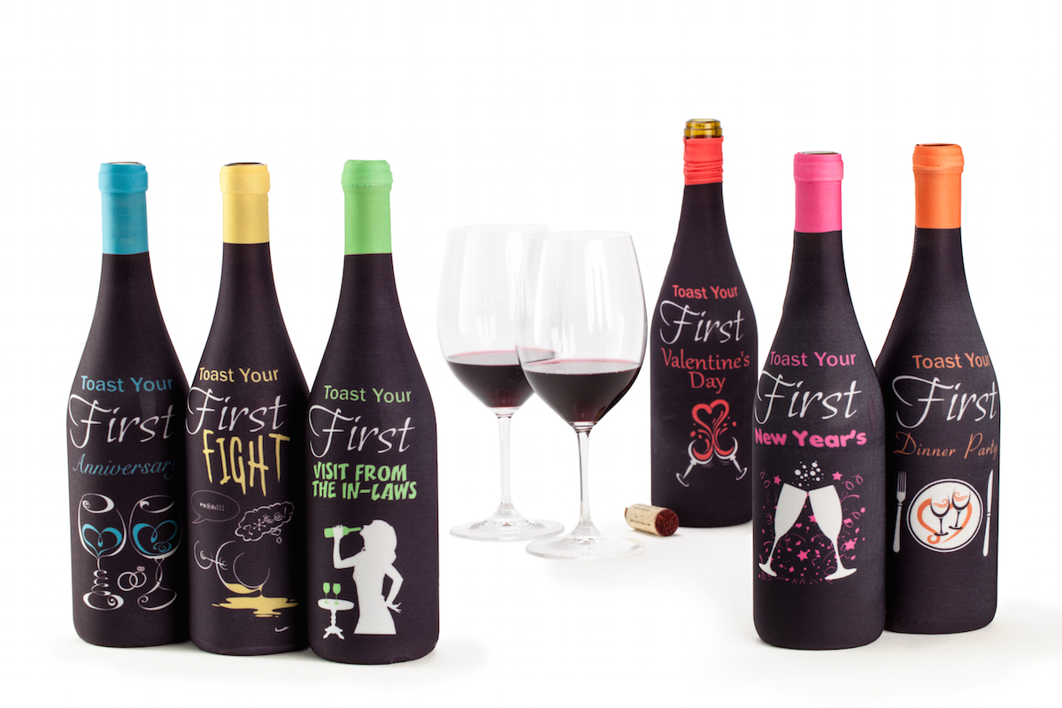 Toast the Firsts\' Wine Bottle Covers Help You Do Just That – Boston ...