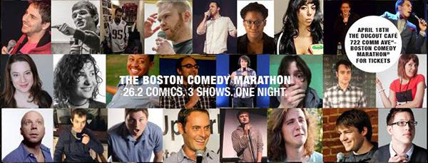 The Boston Comedy Marathon sq