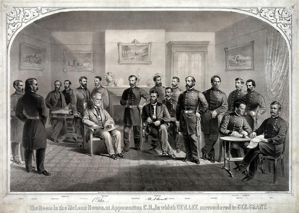 Appomattox Courthouse Surrenderimage via Wikimedia Commons