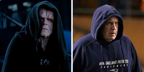 Which Movie Villain Does Bill Belichick Most Resemble?