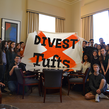 tufts divest sq