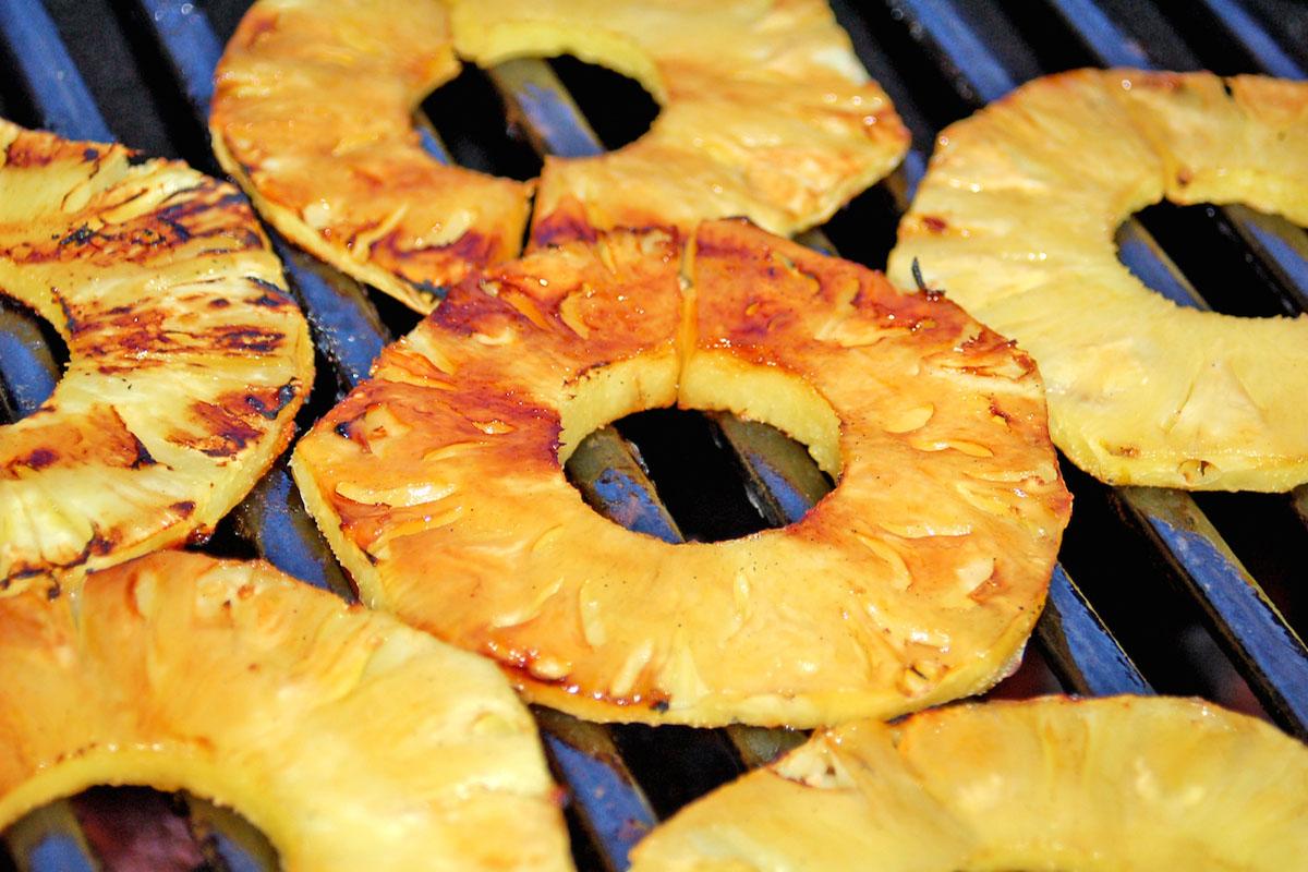 Grilled pineapple via Pockafwye/Flickr