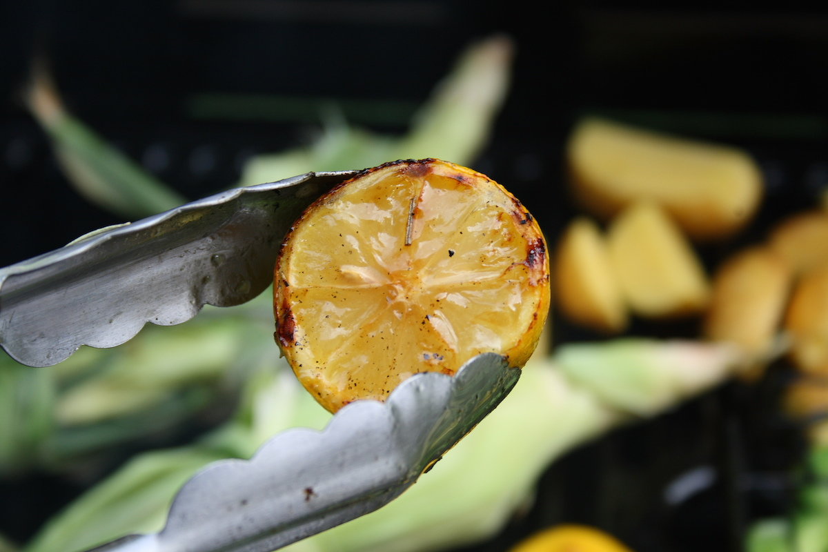 Grilled lemon via arsheffield/flickr