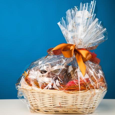 460 shutterstock_gift basket against blue background