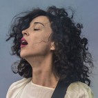 St. Vincent, performing at Boston Calling