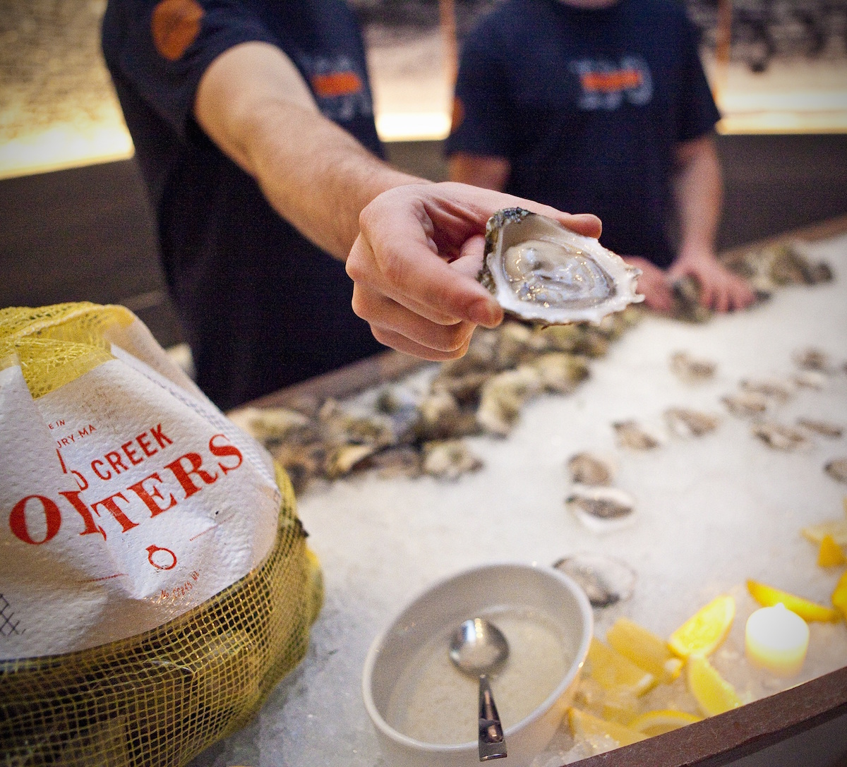 Photograph courtesy of Island Creek Oyster