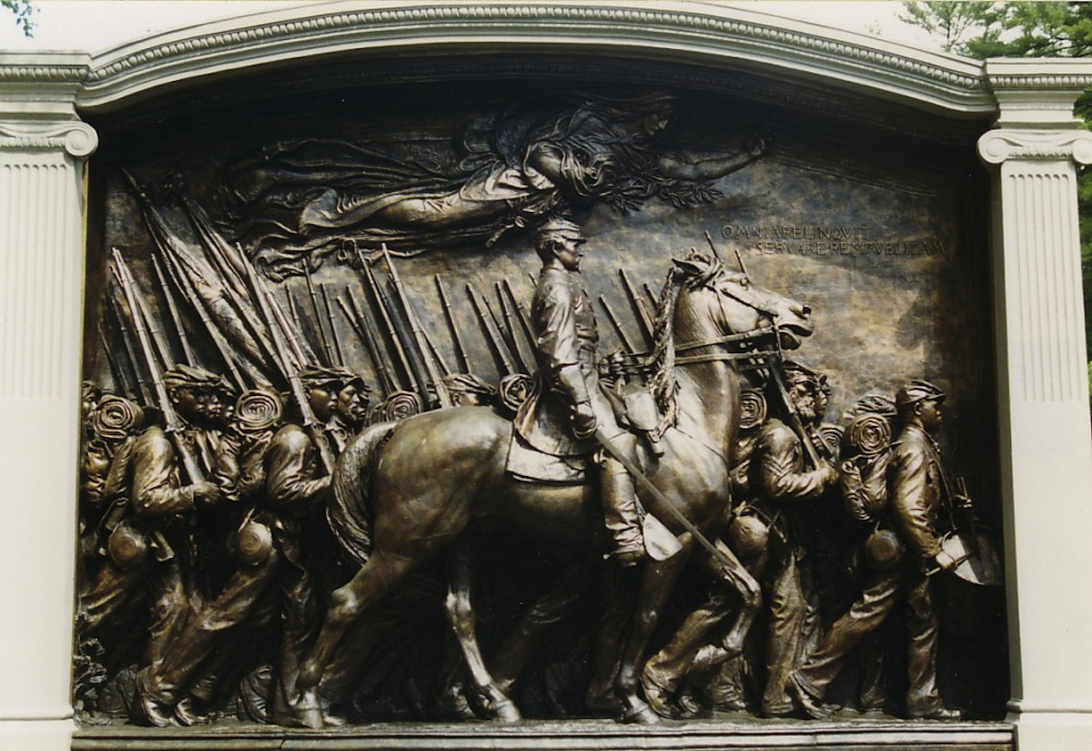 Robert Gould Shaw Memorial via Wikimedia Commons.