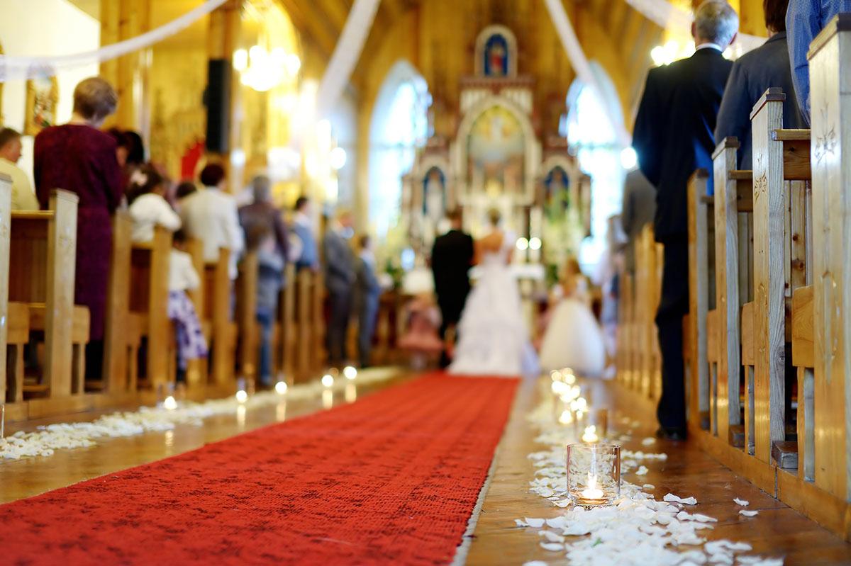 Church photo via Shutterstock