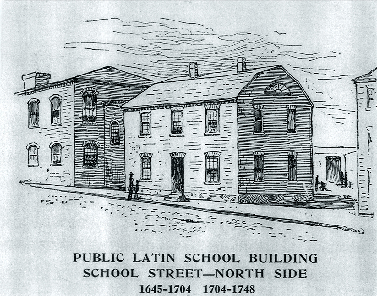 boston latin school drawing