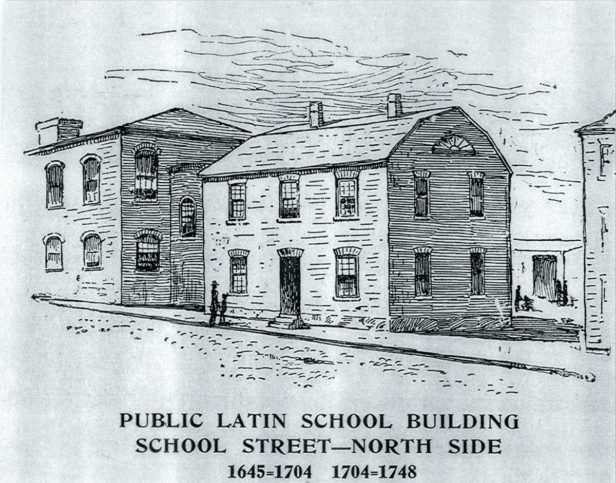 boston latin school drawing