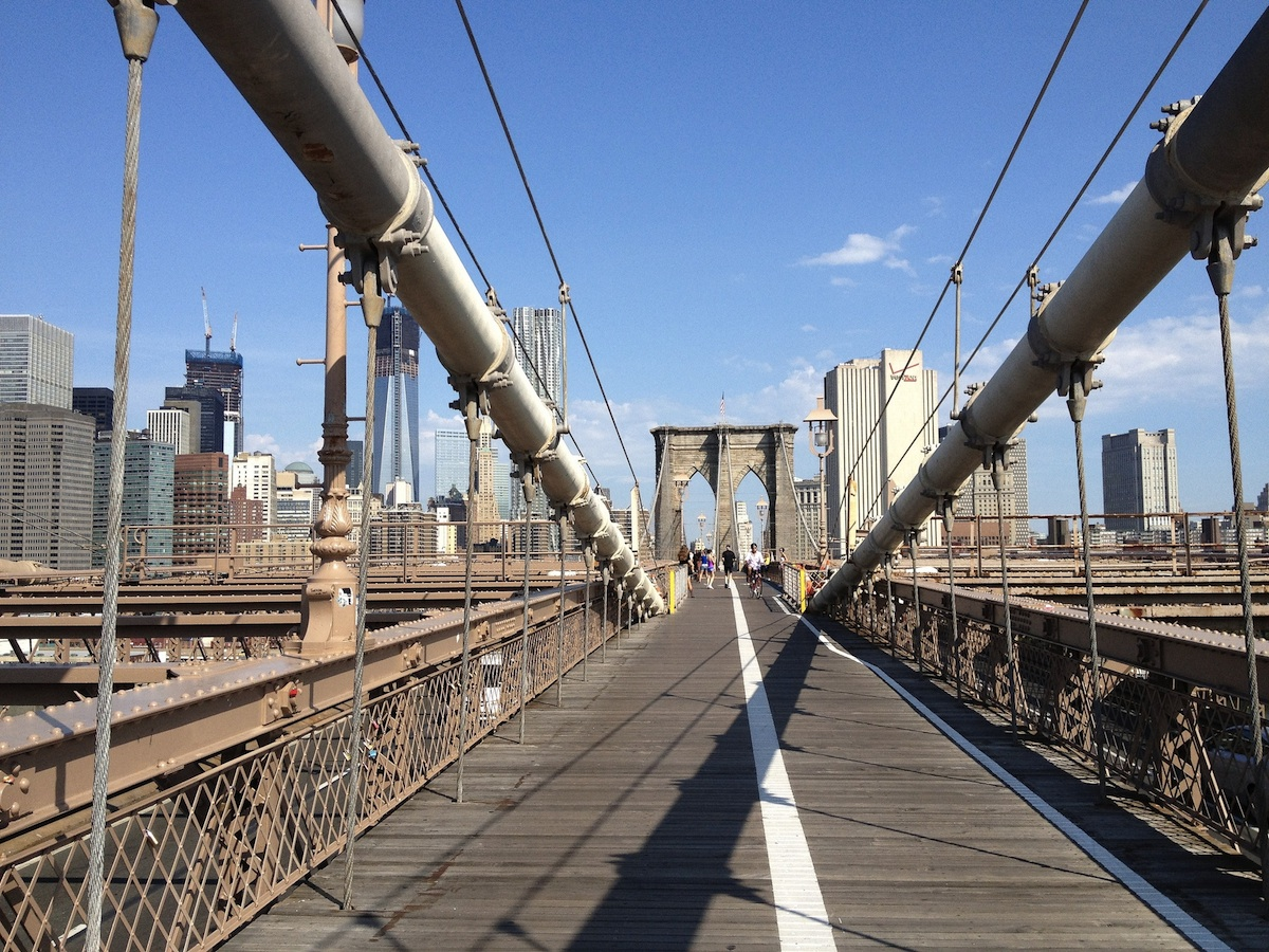 The Brooklyn Bridge by Sue Waters on Flickr