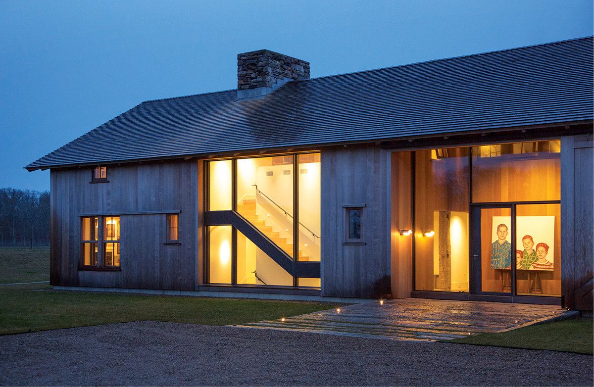 Greener Pastures Modern Farm Design On Martha S Vineyard
