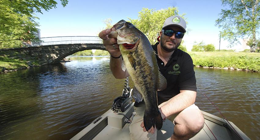 Fishing the Charles
