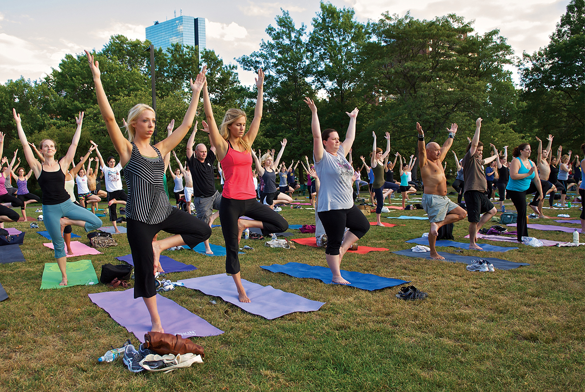 Free Workouts In Boston Parks