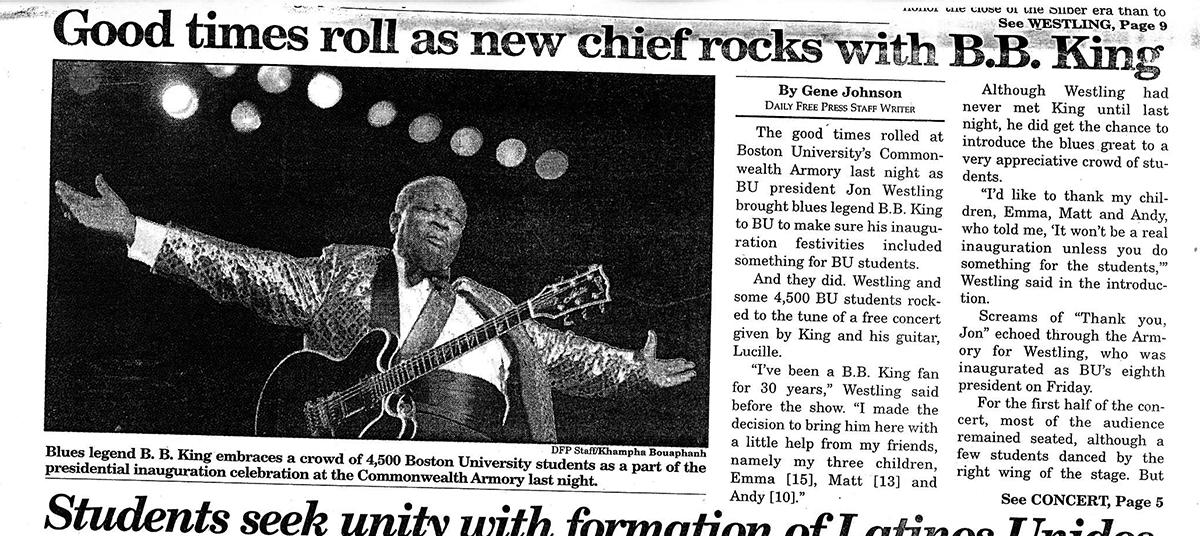 Daily Free Press via Howard Gotlieb Archival Research Center