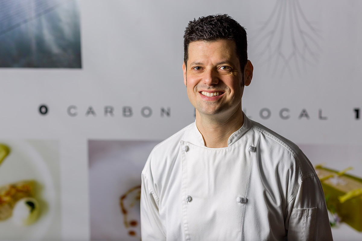 Chef Peter Ungár. Photo by