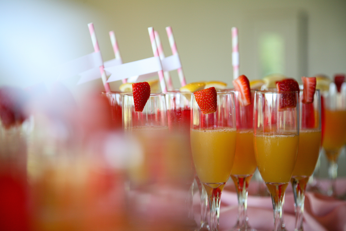 mimosa cocktail via Shutterstock