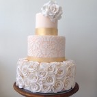 460 JC rosette cake