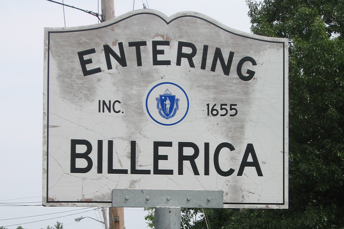 Entering Billerica (Cropped) by nsub1 via Flickr/Creative Commons