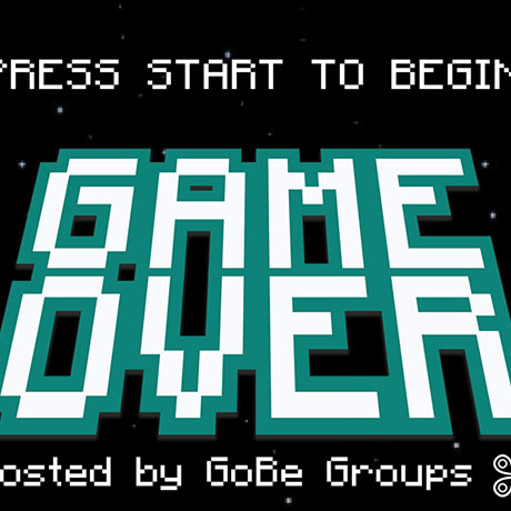 Game Over event flyer
