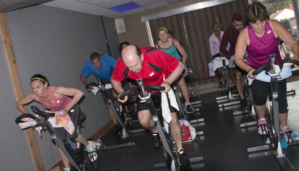 A class at Let's Cycle Cape Cod. Photo provided to bostonmagazine.com