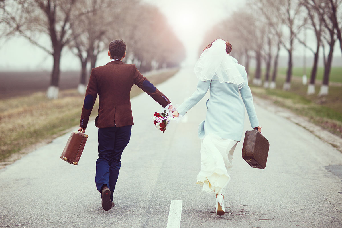 Eloping Couple